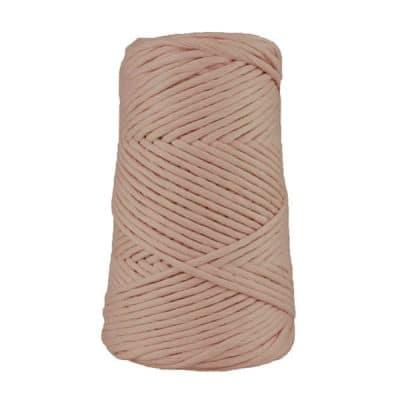 Coton peigné suprême - Rose fané