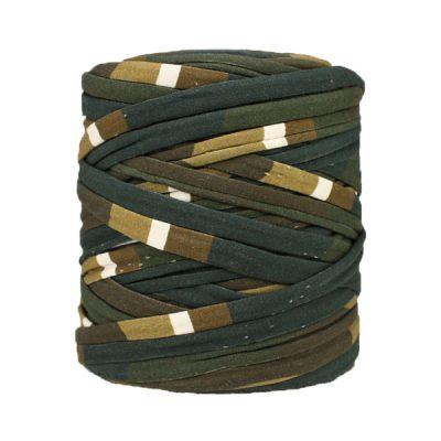Trapilho-bobine-pelote-imprimé-noir-marron-beige