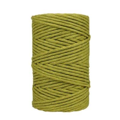 Coton-peigné-pistache